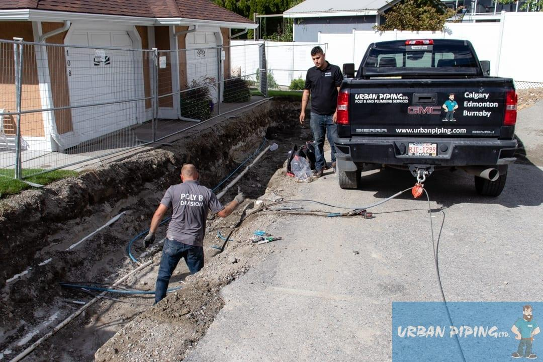 water line replacement vancouver