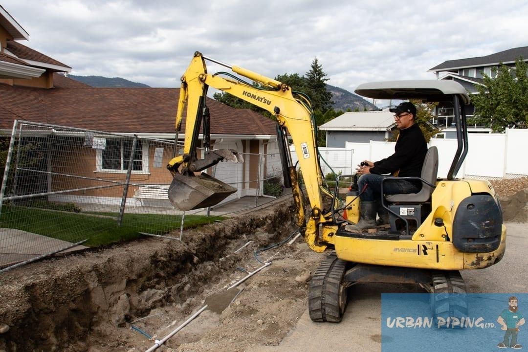 Water Line Replacement Burnaby