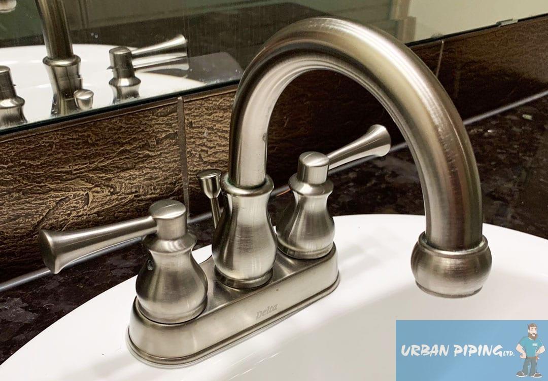 repairing a leaky faucet