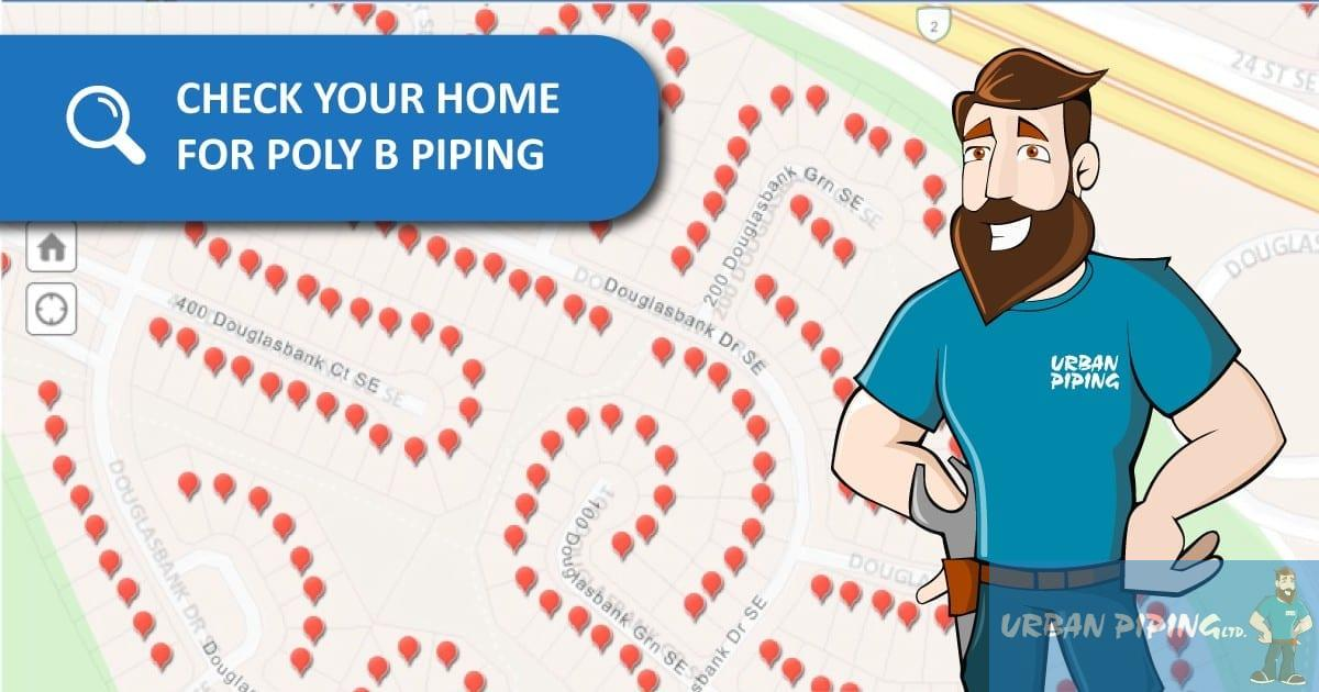 Check your home for poly b piping